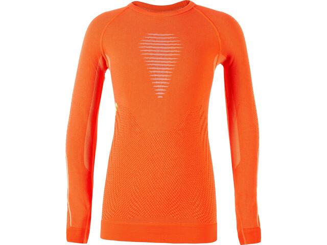 UYN Visyon UW Maglietta a maniche lunghe Bambino, arancione